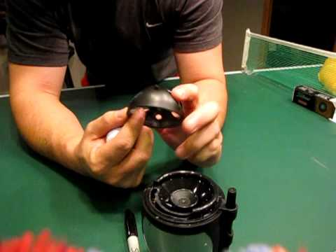 Check Go Pro - Home mod for perfect golf ball alignment line and allows use of
