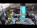 No Snorkel blows engine -4000rpm +20 litres of water=bang