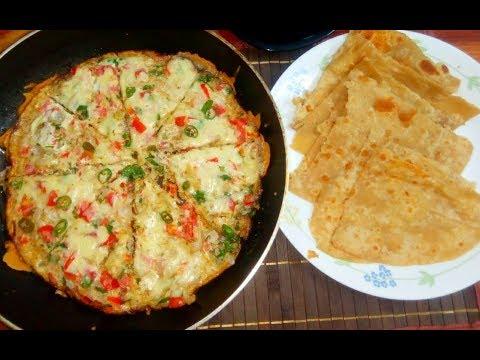 Potato Cheese Omelette Recipe