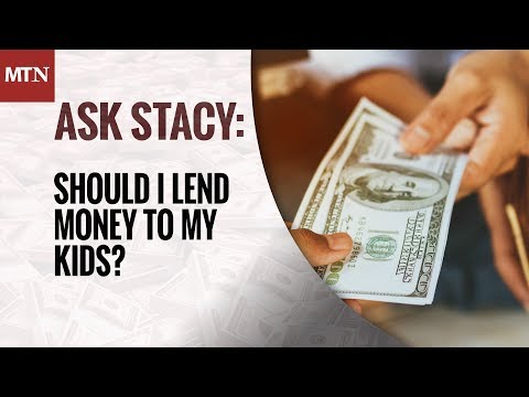 Should I Lend Money to My Kids?