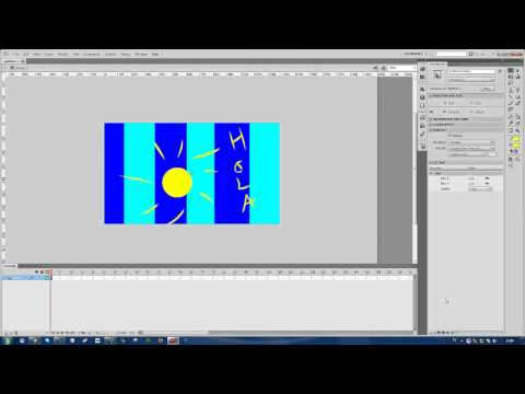 Adobe Flash Professional CS6 - How to Get a Blur Effect (Blur an Image or Object)