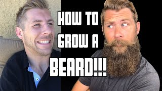 How to Grow a Beard and Mustache From Start to Finish