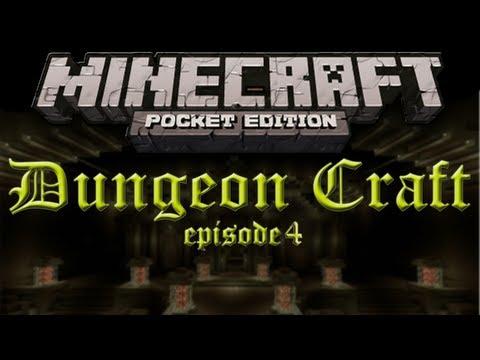 Dungeon Craft Ep. 4 - Minecraft Pocket Edition Adventure Map