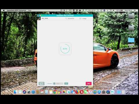 How to convert iOS HEIC photos to jpg jpeg png with Joyoshare HEIC Converter for Mac