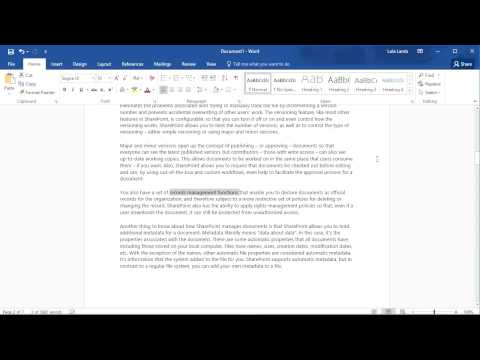 Quick Tip: Microsoft Word: Creating an Index