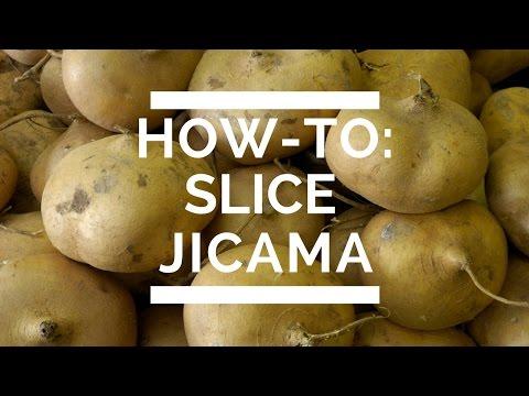 How-To: Slice Jicama