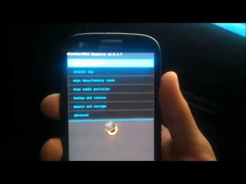 Install CWM Recovery in Samsung Galaxy S3