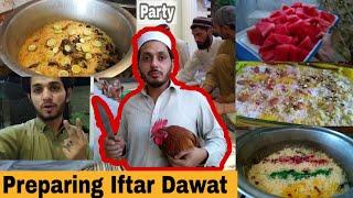 Preparing Iftar Dawat For Family & Cousins In Lockdown|Pashto Vlogs|