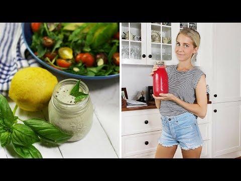 Raw Vegan What I Eat (ACAI BOWLS + SALAD)
