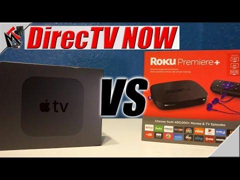 DirecTV Now / Roku vs Apple TV