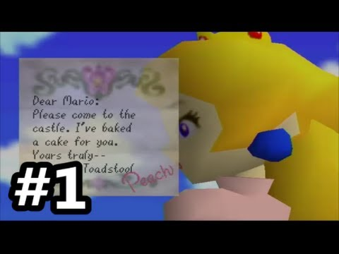 Super Mario 64 - Part 1 - I WAS PROMISED CAKE!