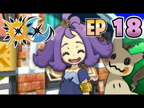 Let's Play Pokémon Ultra Sun & Ultra Moon - Part 18 - The Trial of Captain Acerola!