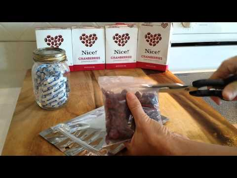 How to Store Dried Fruit for Long term Food Storage for a Prepper's Stockpile :)