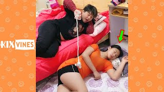 Funny videos 2021 ✦ Funny pranks try not to laugh challenge P194
