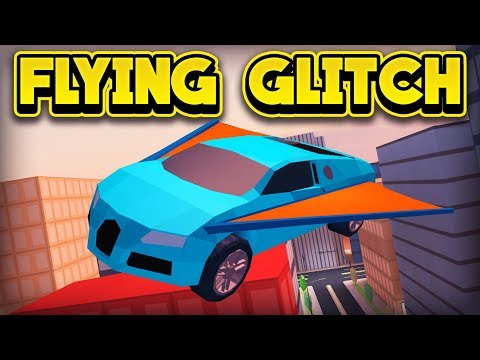 NEW FLYING CAR GLITCH! (ROBLOX Jailbreak)
