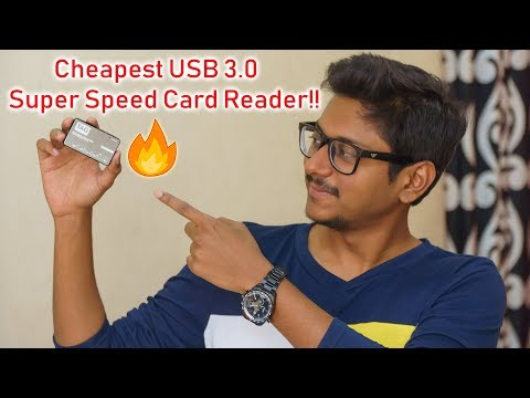 Cheapest & Super Speed USB 3.0 Card Reader!!