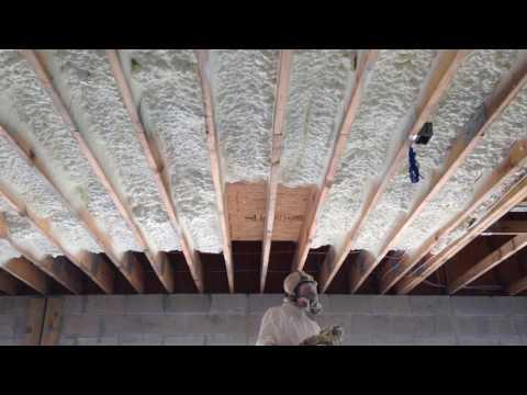Spray Foam Ceiling Garage