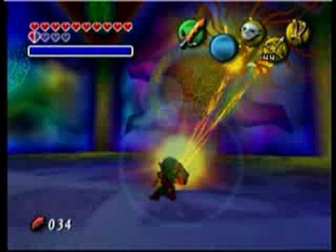 Majora's Mask Battle Without The Fierce Deity Mask And Great Fairy Sword