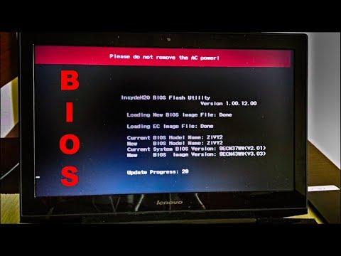 How to Lenovo Y50-70 BIOS Update (v2.01 -- v3.03)