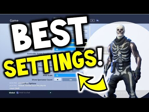 HOW TO WIN: BEST FORTNITE CONSOLE SETTINGS PS4 / XBOX FORTNITE SEASON 4 - Postboxpats Setting!