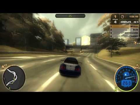 Need For Speed MOST WANTED PRO DRIVING ((MANUAL)) BMW M3 GTR