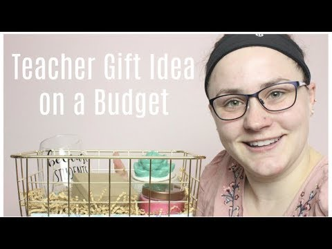 DIY END OF THE YEAR TEACHER GIFT BASKET ON A BUDGET   Allie Young