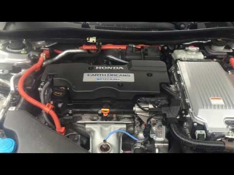 Honda Accord Hybrid Engine/cabin Air Filter Change