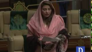 Argument between Nusrat Sehar Abbasi and Imdad Patafi in Sindh Assembly