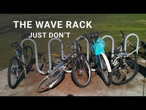 How to Choose a Bike Rack - What not to buy. The Wave Rack video.