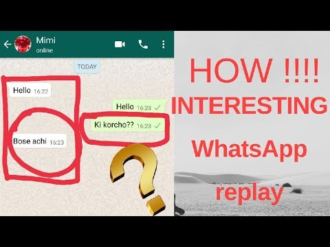 HOW TO MAKE FAKE WHATSAPP CHAT CONVERSATION tricks in 2018