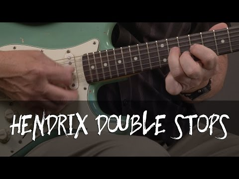 Jimi Hendrix Double Stop Guitar Lesson