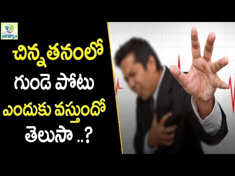 Heart Attack Symptoms Causes - Heart Care Tips In Telugu || Mana Arogyam
