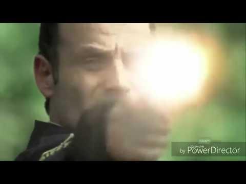 Rick Grimes killing walkers