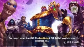 World Boss Infinity Thanos v.s Sharon Rogers - Marvel Future Fight