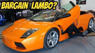 I Bought the Cheapest Lamborghini Murcielago Roadster in the USA, with ONE BIG PROBLEM