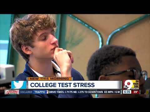 College prep can be stressful for high school students