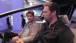 CES 2017 BMW Inside Future - Zwei Mann, ein Auto | auto motor und sport