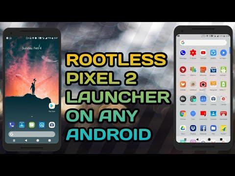rootless pixel 2 launcher