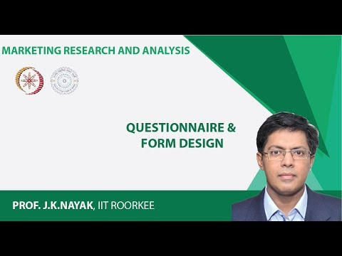Questionnaire & Form Design