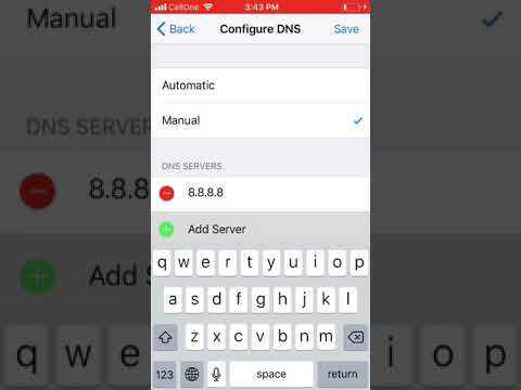 How to Configure Google DNS for iPhone