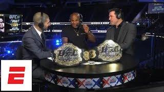 Daniel Cormier talks Brock Lesnar UFC 226 confrontation, Stipe Miocic knockout, Jon Jones | ESPN