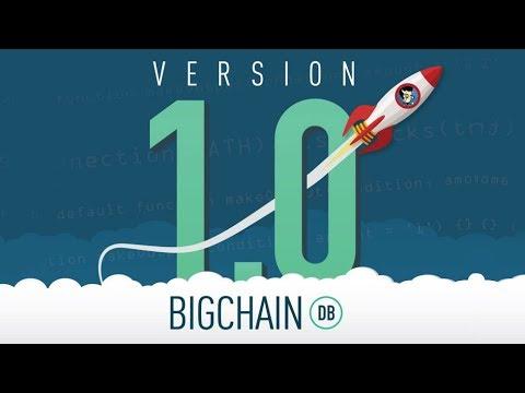 BigchainDB Version 1.0 Released - Live Coding Demo