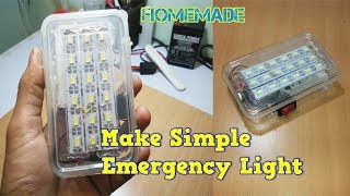 how to make simple emergency light at home
