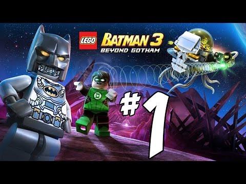 Lego Batman 3: Beyond Gotham Walkthrough - PART 1 - Lantern Corps, Brainiac & Adam West - PS4 HD