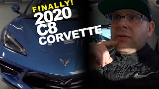 *UP CLOSE AND PERSONAL* With The 2020 C8 Corvette