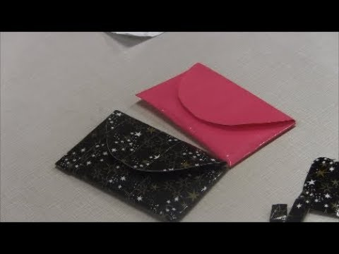 How to Make a Duct Tape Coin Pouch