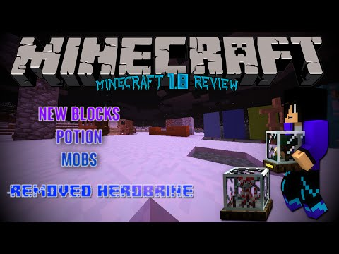 Minecraft ◘  1.8 Review / Show-off