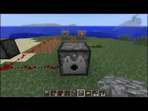 Minecraft Tutorial: Dispenser Death Trap.