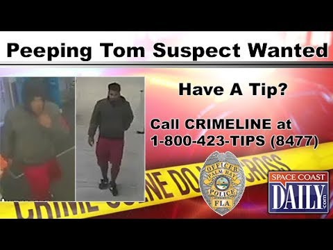 PEEPING TOM SUSPECT WANTED – Suspect Recorded Video of Children In Palm Bay Walgreens' Restroom