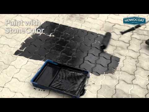 StoneColor - Renew your paving slabs